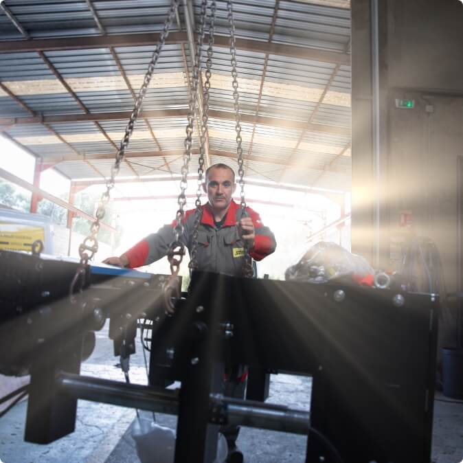 levage industriel en PACA et en France - Groupe SDML 2