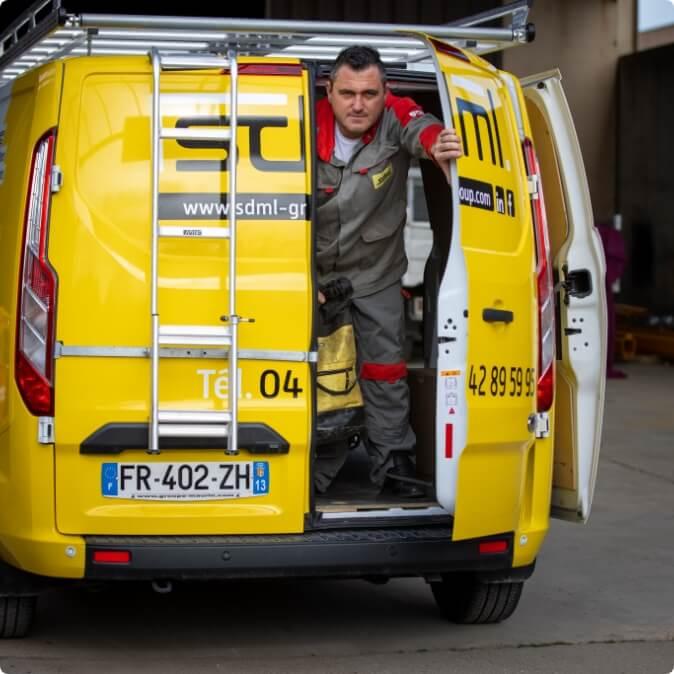 maintenance curative en PACA et en France - Groupe SDML 1